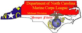 Department of North Carolina Marine Corps League Logo